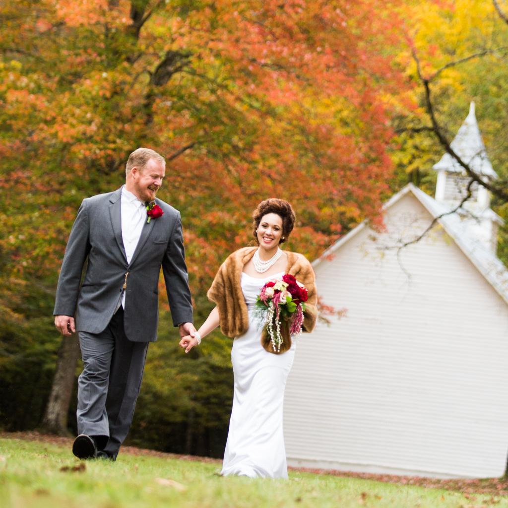 Christina and James's wedding