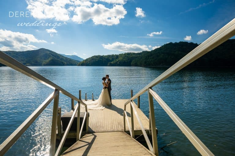 Rachel And Dan's Wedding At Nantahala Weddings.