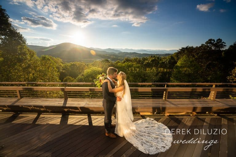 Nikki And Ryan's Wedding At The Crest Center In Asheville, Nc.